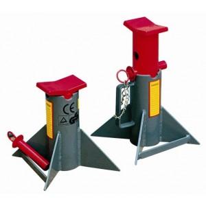 Chandelles de calage CTH pour matériel lourd - Capacité 13 t et 18 t par paire