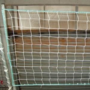 Filet de protection verticale FPV-EN 10mx1m et 20mx1m norme EN 1263-1 - Maille polyamide Ø 4,75 mm