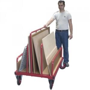 Chariot porte panneaux mobile - Capacité 500 kg