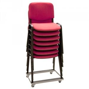 Chariot porte chaises empilables - Capacité 150 kg