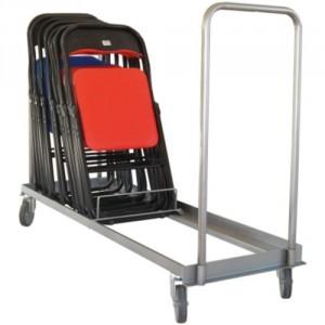 800*7610 - Chariot porte chaises pliables ou empilables