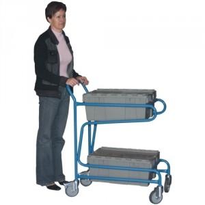 802*618 - Servante capacité 100 kg pour bacs (bacs non fournis, en option)