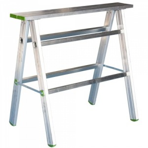 Tréteau en aluminium repliable - Capacité 200 kg
