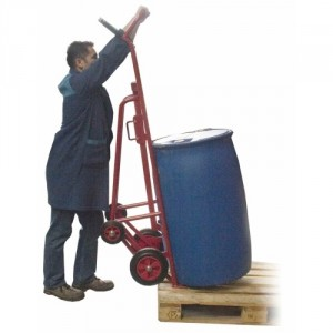 840*233 - Diable palettiseur - dépalettiseur de fûts métalliques ou plastiques 350 kg