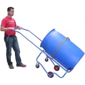 840*7562 - Chantier à fût universel 250 kg AVEC dossier de manutention