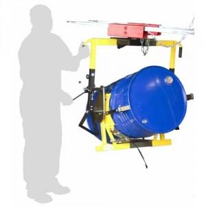 845*6614 - Retourneur universel pour fûts métalliques et plastiques à rebords (Ø 310 à 600 mm) 350 kg