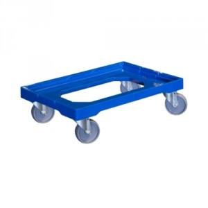 865*7652 - Rouleur plastique pour bacs 600x400 mm - Capacité 250 kg