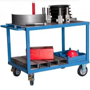 880*8080 - Servante d'atelier mécanosoudée - Capacité 1000 kg