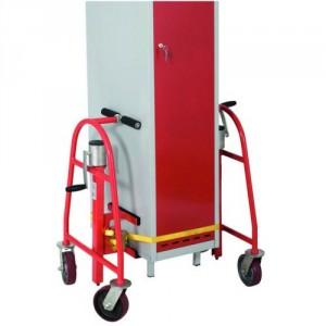 Chariots porte meuble avec élévation par cric - Capacité 600 kg