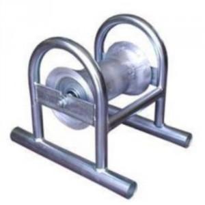 Galet de déroulage ALUMINIUM - Pour câbles et tubes Ø maxi 160 mm