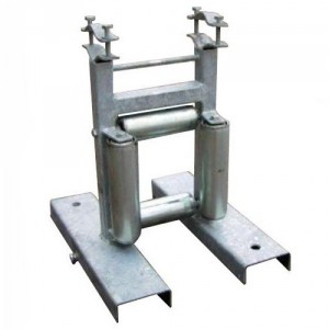 Galet de déroulage - Pour câbles et tubes Ø maxi 200 mm
