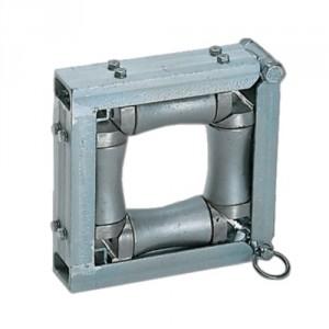 Galet de tirage - Pour câbles et tubes Ø maxi 100 mm