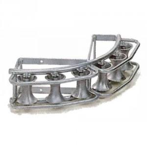 Galet de bord de chambre SE6-90 - Pour tirage de câbles en angle de 90°