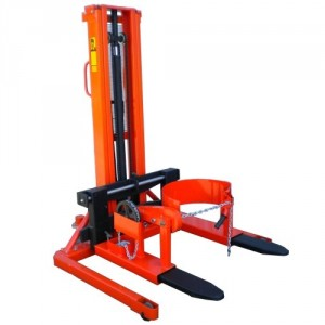 Gerbeur manuel à longerons encadrants TGF avec écartement des fourches réglable - Capacité 1000 kg, hauteur de levée 2850 mm
