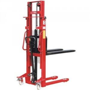 Gerbeur manuel SHM avec fourches réglables en largeur - Capacité 500 kg à 1500 kg