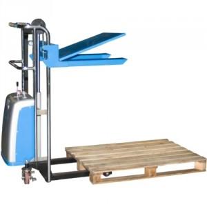 Gerbeur semi-électrique 855*6658 - Capacité 400 kg, hauteur de levée 1200 mm