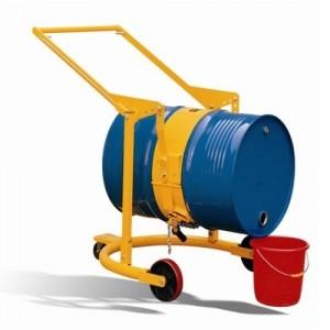 Chariot basculeur de fût acier 210 litres - Capacité 360 kg