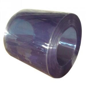 Lanière PVC transparente STANDARD largeur 100 mm à 400 mm - Rouleaux de 50 m