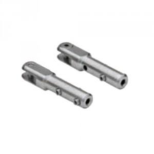 Mini-terminaison à chape à montage manuel INOX pour câbles Ø 2 mm à 4 mm