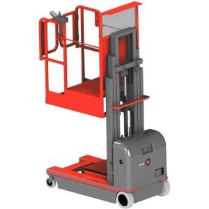 Nacelle motorisée NBV à mât vertical capacité 300 kg - Hauteur de travail 5,50 m, 6,00 m ou 6,50 m