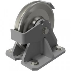 Réa avec support FIXE PP - Ø 133 mm à 440 mm
