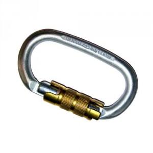 Connecteur acier automatique triple sécurité Triax NM22 - Ouverture 22 mm