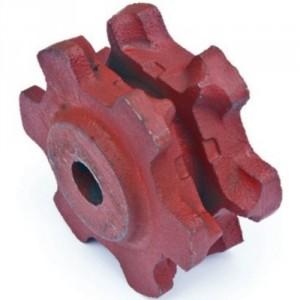 Noix à dégagement NDF11 pour chaîne suivant norme NFE 26011 - Ø 8x24 mm à 14x42 mm