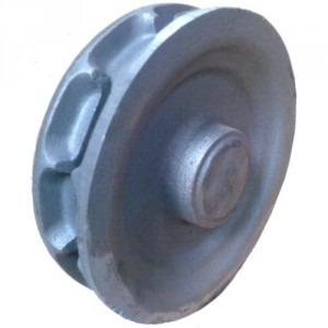 Noix à empreintes NFT12 en fonte FT 25 pour chaîne norme NFE 26012 - Ø 10 mm à 18 mm