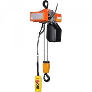 Palan électrique à chaîne SRM Monophasé 220 Volts avec crochet de suspension - Capacité 0,25 t à 2 t
