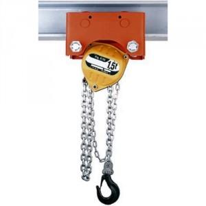 Palan manuel à chaîne combiné avec chariot HPR à direction par poussée (HR) ou par chaîne (HH) - Capacité 0,5 t à 5 t