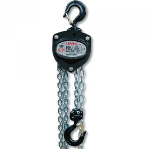 Palan manuel à chaîne LEVEX SPB - Capacité 0,25 t à 10 t