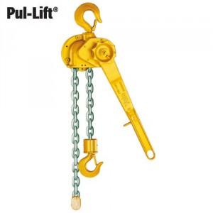 Palan manuel à levier à chaîne en fonte malléable PUL-LIFT D85 (chaîne à maillons) et C85 (chaîne à rouleaux) - Capacité 0,75 t à 10 t