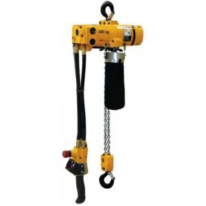 Palan pneumatique à chaîne compact CPL - Capacité 125 kg à 500 kg