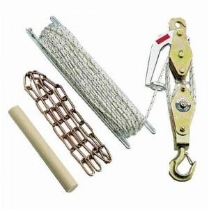 PALANMATIC palan manuel à corde - Capacité 250 kg à 630 kg