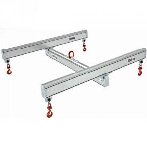 Palonnier aluminium en H fixe PAHF - Capacité 0,125 t à 2 t