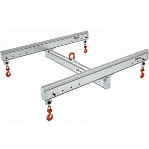 Palonnier aluminium en H réglable PAHR - Capacité 0,125 t à 2 t