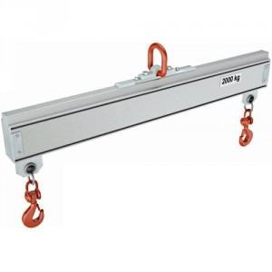Palonnier aluminium monopoutre FIXE PAMF - Capacité 0,125 t à 2 t