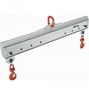 Palonnier aluminium monopoutre REGLABLE PAMR - Capacité 0,125 t à 2 t