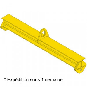 Palonnier monopoutre FIXE PMFE - Capacité 1 t à 10 t