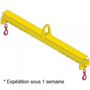 Palonnier monopoutre REGLABLE PMRE - Capacité 1 t à 10 t