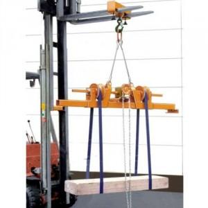 Palonnier retourneur manuel (PRSM) ou électrique (PRSE) - Capacité 1,5 t