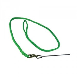 PCA-1372-Élingue de corde PEHP 9,5 mm x 2,1 m avec aiguille de métal