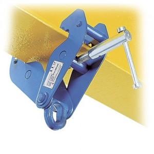 Pince d'accrochage à vis CSO pour fer de largeur 75 à 235 mm - Conforme EN 795 B