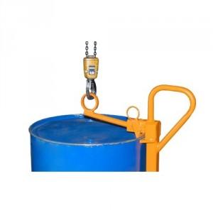 Pince pour fûts métalliques à rebords de 220 l - Capacité 0,35 t