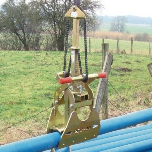 Pince pour tuyaux béton Ø 80 à 400 mm - Capacité 0,43 t