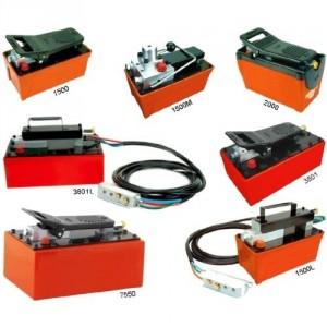 Pompes hydro-pneumatiques - Capacité de 1,5 l à 3,8 l