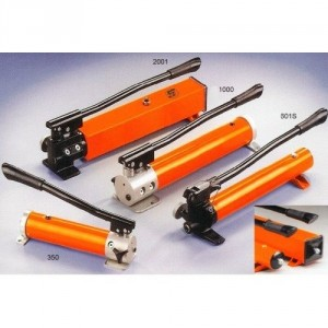 Pompes manuelles hydrauliques à 1 ou 2 vitesses - Capacité de 0,35 l à 1,4 l