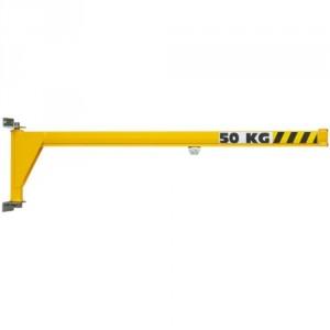 Potence murale légère à rotation 180° PMICL avec flèche inversée en profil creux - Capacité 50 kg, 80 kg et 100 kg