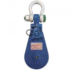 Poulie de traction 'OFF-SHORE' avec manille POM - Capacité 2 t à 30 t