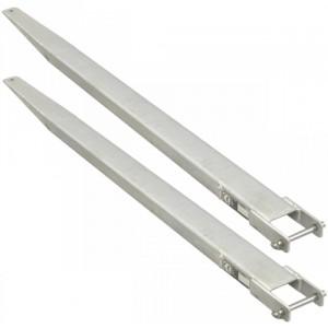 Rallonges de fourches fermées EXG - Capacité 1 t à 2,5 t